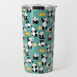Panda Play Travel Mug