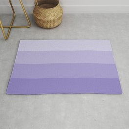 Four Shades of Lavender Rug
