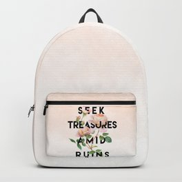 Seek Treasure Backpack