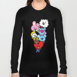 BT21 Characters Long Sleeve T-shirt