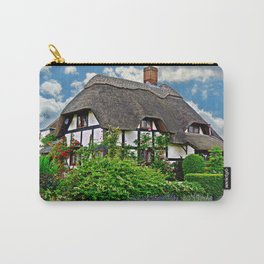 Quaint English Cottage Carry-All Pouch