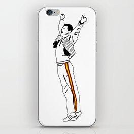 Freddie at Wembley iPhone Skin