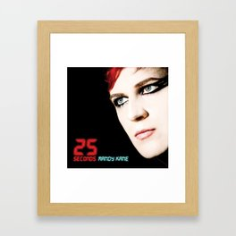 25 SECONDS - EP ARTWORK Framed Art Print