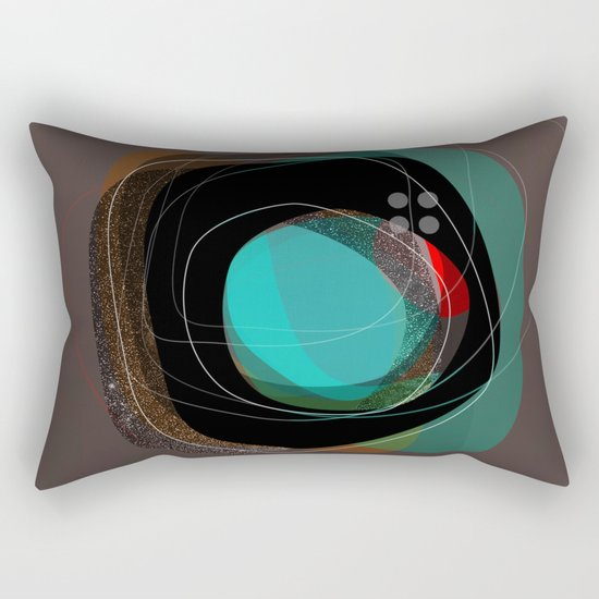 the abstract dream 8 Rectangular Pillow