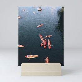 Austin Kayak at Dusk Mini Art Print