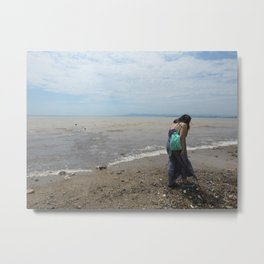 Oh look! Shell! Metal Print
