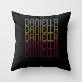 Daniella Name Gift Personalized First Name Throw Pillow