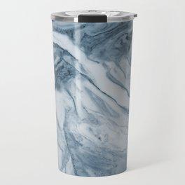 Cipollino Azzurro blue marble Travel Mug
