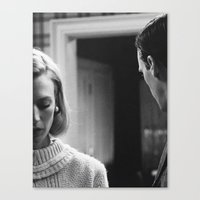 mad men Canvas Prints featuring MAD MEN by VAGABOND