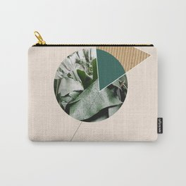 Tropical & Geometry Carry-All Pouch