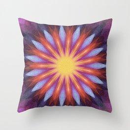 Flowernova Throw Pillow
