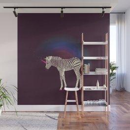 Magic Unicorn Zebra Wall Mural