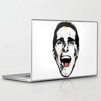 american psycho Laptop & iPad Skins featuring American Psycho by CultureCloth