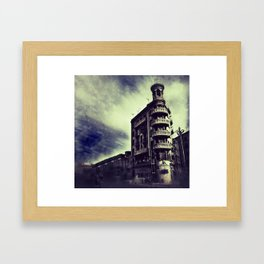 Torre Poble Nou Framed Art Print
