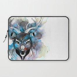 Deer- Blue Laptop Sleeve