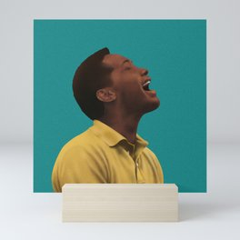 Sam Cooke Singing Mini Art Print
