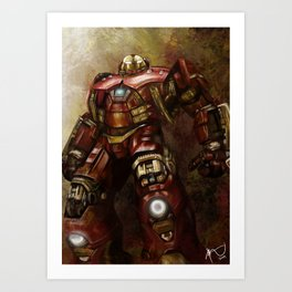 The Hulkbuster  Art Print