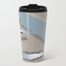 Man and river Travel Mug