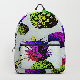 colorful pineapple pattren Backpack
