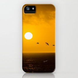 Sunset at Half Moon Bay iPhone Case