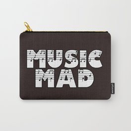 MUSIC MAD Carry-All Pouch