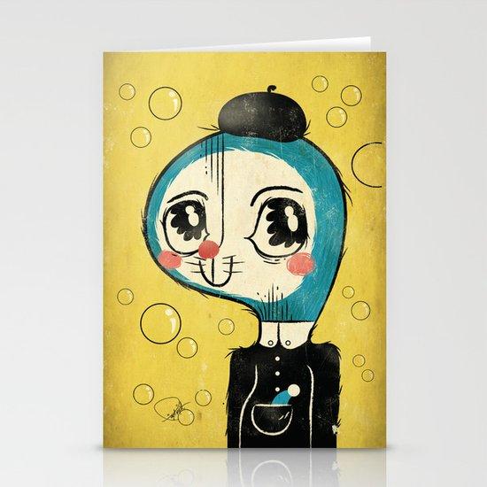 Portrait of Doraemon's Creator, Hiroshi Fujimoto Stationery Cards