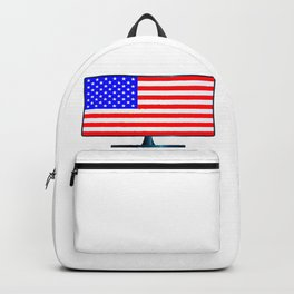 Stars And Stripes TV Backpack