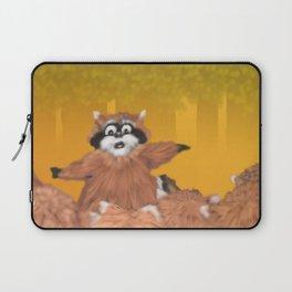 Raccoon Series: Come Look! Laptop Sleeve