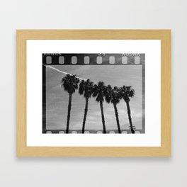 California Monochromia Framed Art Print