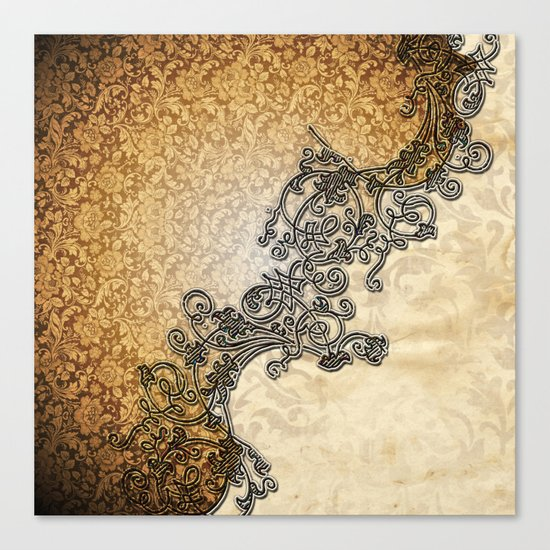 Vintage design  Canvas Print