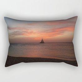 Eagle Beach, Aruba - I Rectangular Pillow