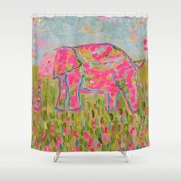 Jelly Bean The Elephant Shower Curtain