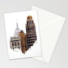 The View from Bryant Park Stationery Cards