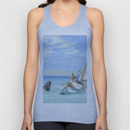 Edward Hopper Ground Swell 1939 Painting Unisex Tank Top