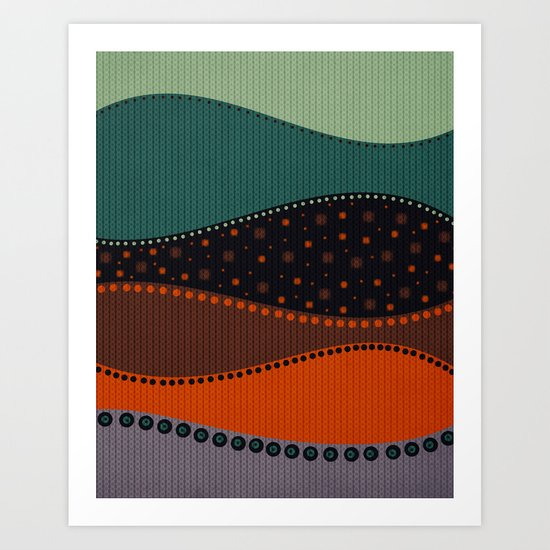 Textures/Abstract 9 Art Print
