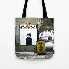 Prague Godot Tote Bag