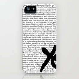 Remember To Love iPhone Case
