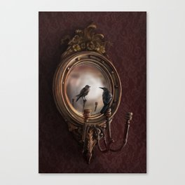 Brooke Figer - Reflection on Perception Canvas Print