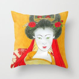 i heard a rumor that you've a great sensei humour! Throw Pillow