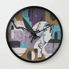 Modern Eclectic Elevated Elevating Emergent Emerging Emotional Emotionally Charged Enchanted Energy Wall Clock