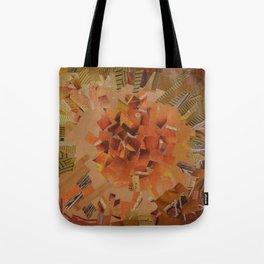 """The Hot Energy"" Ecologic atypic art - 1/3 - by WHITEECO Ecologic design Tote Bag"