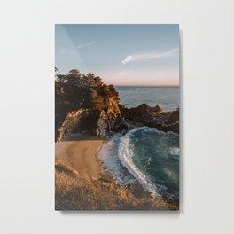 Mcway Falls at Sunset Metal Print