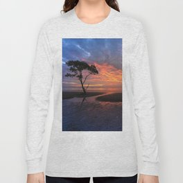 Colorful Sunset on the Beach Long Sleeve T-shirt