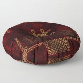 Celtic knote, vintage design Floor Pillow