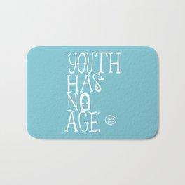Youth Has No Age (Blue) Bath Mat