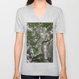 Rainforest from below Unisex V-Neck
