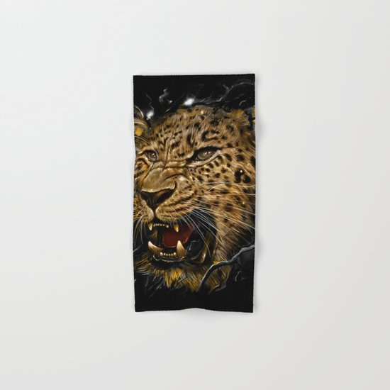 Leopard Hand & Bath Towel