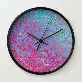 Colorful Corroded Background G284 Wall Clock