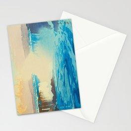 Niagara Falls Hiroshi Yoshida American Landscape Japanese Woodblock Print Stationery Cards