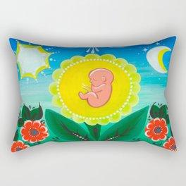 Miracle of Life Rectangular Pillow
